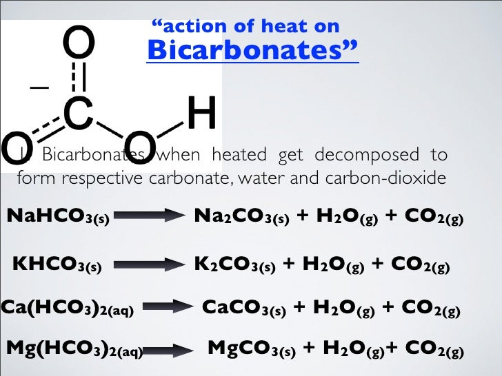 khco3 decomposition enthalpy Stoichiometry of the decomposition of potassium bicarbonate if not, heat again for five what was/were the product(s) of the decomposition of potassium.