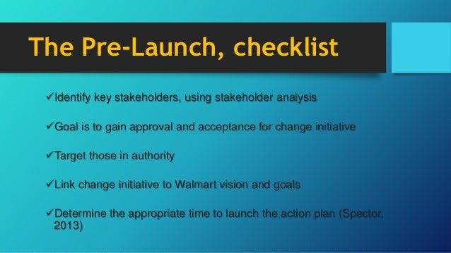 walmart stakeholder analysis