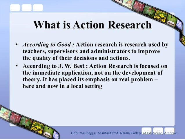 Action research related to Classroom problems