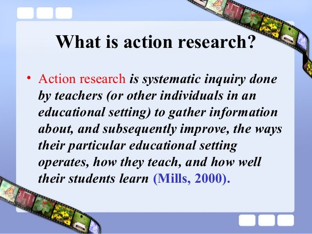 action research in education examples pdf