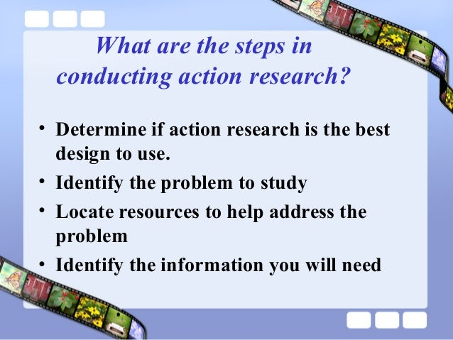 literature review for action research project Research questions for literature reviews  as a graduate student in education, you will eventually write a literature review for an action research project.