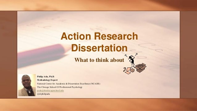 Phd thesis action research