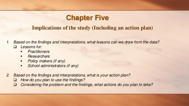 Action plan for dissertation