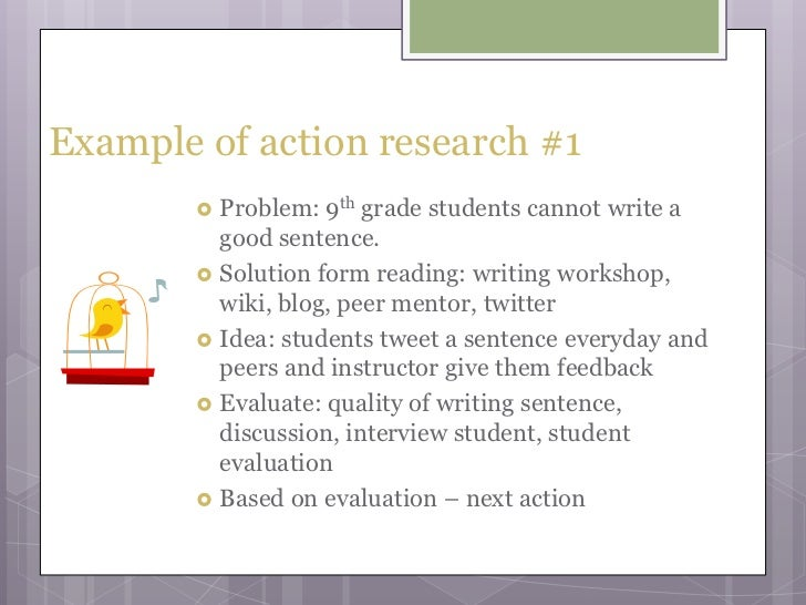 action research sample papers Dorothy chun uc santa barbara  action research as a research methodology leads first to reflecting on a pedagogical situation and then to producing.