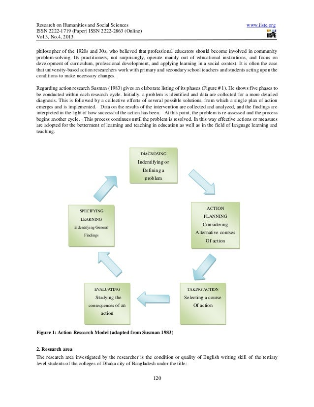 english action research Examples, sample topics, and discussion about action research in education using drawings, interviews, and other data sources to study teaching and learning.