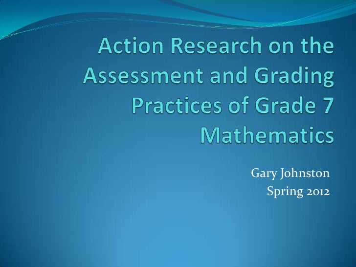 action research in elementary mathematics We conducted our action research project in a third grade classroom at salina elementary in dearborn, mi salina elementary school's students come with little or no.