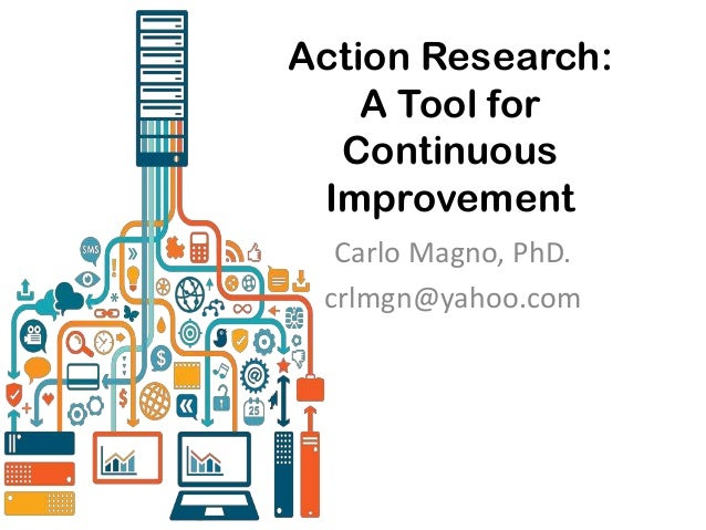 Action Research: A Tool for Continuous Improvement Carlo Magno, PhD. crlmgn@yahoo.com