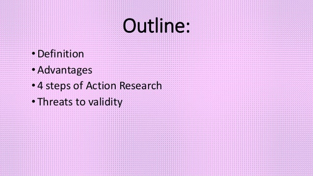 Action Research  Slide 2