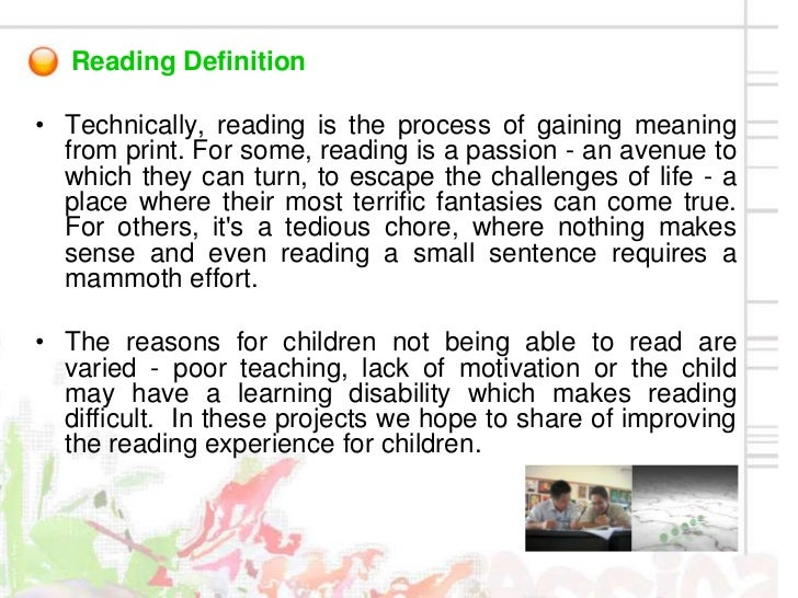 Chapter Using Action Research for Reading Program Assessment