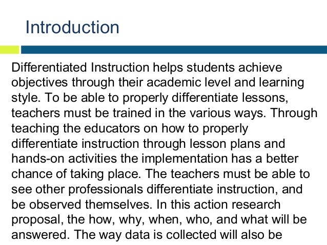 Action research paper in education