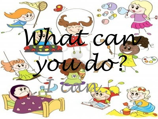 What can you do? I can…