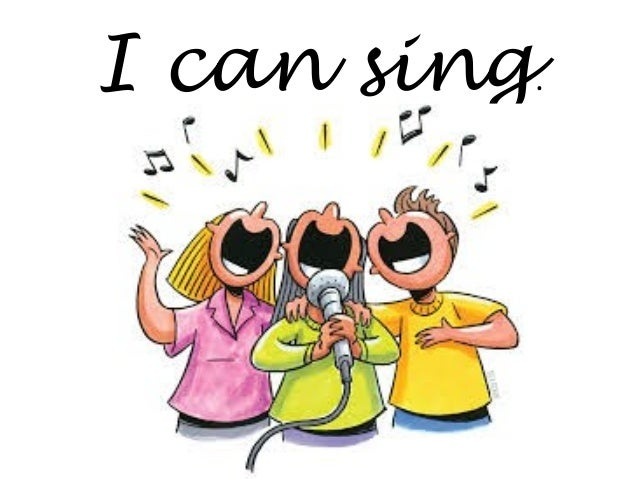 Image result for i can sing