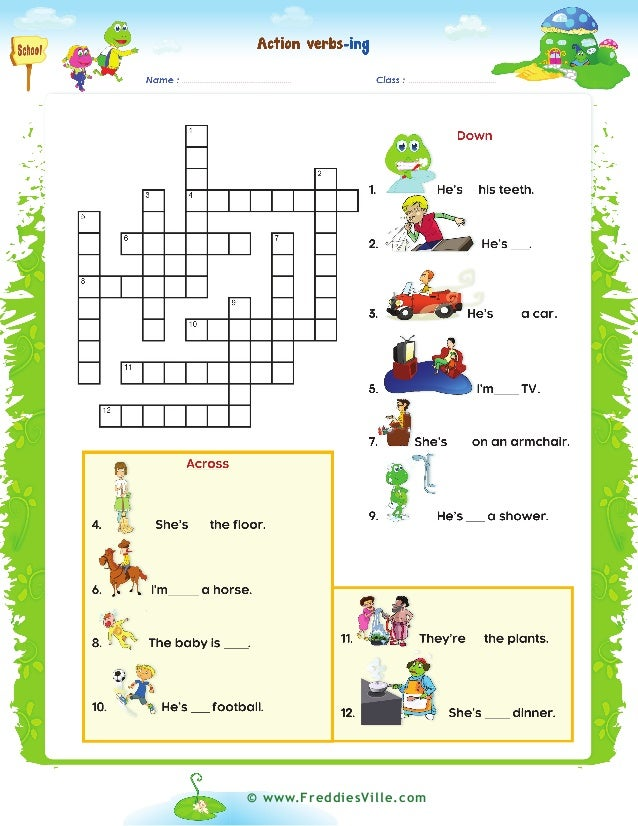 Crossword past and present Past or