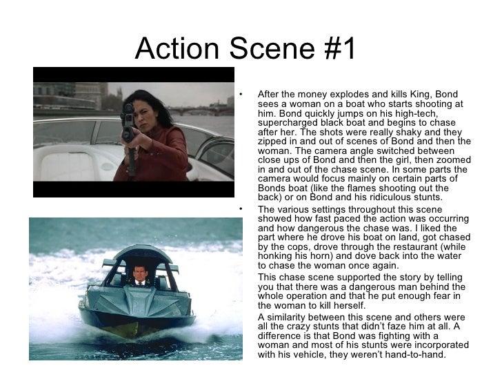 Action scenes bond Slide 2