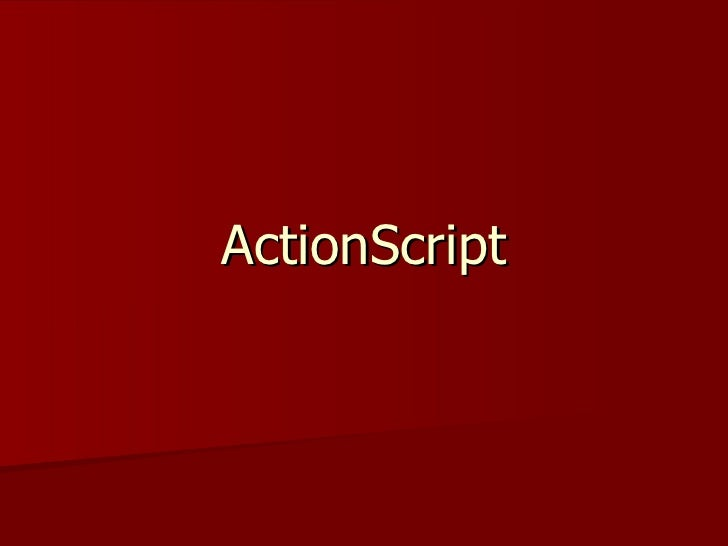 Action script
