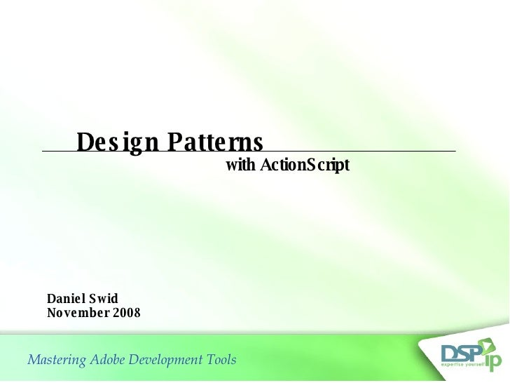 Actionscript3 Design Patterns