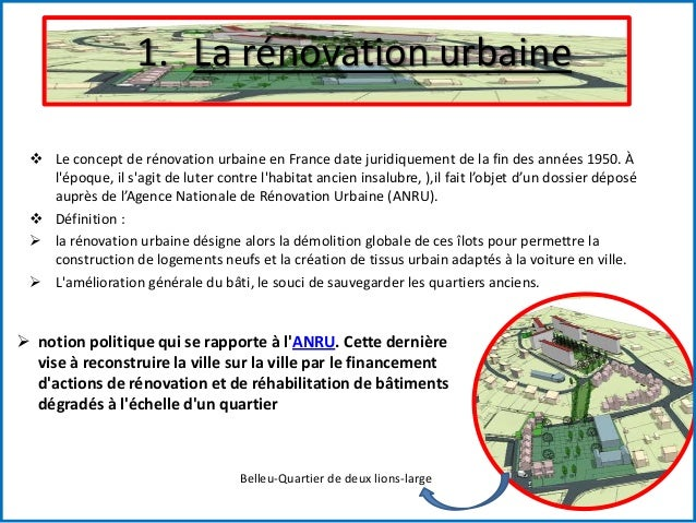 Actions et interventions urbaine for Architecture urbaine definition