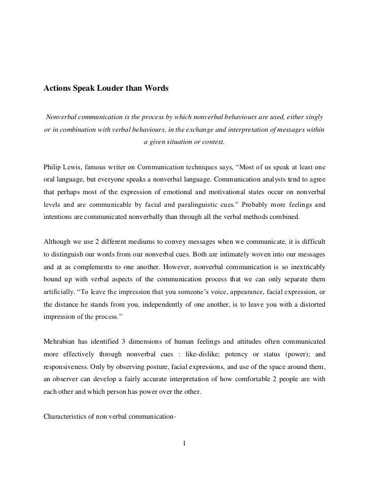 essay on effective communication