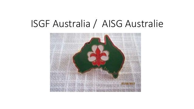 ISGF Australia / AISG Australie