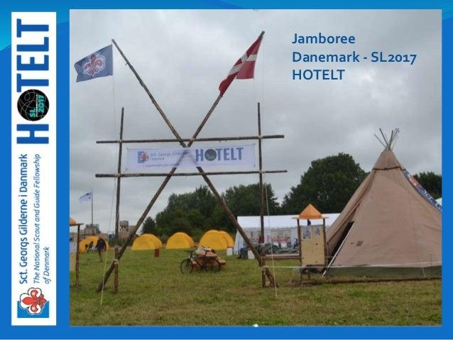 Jamboree Danemark - SL2017 HOTELT