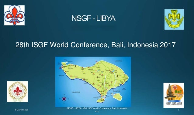 28th ISGF World Conference, Bali, Indonesia 2017