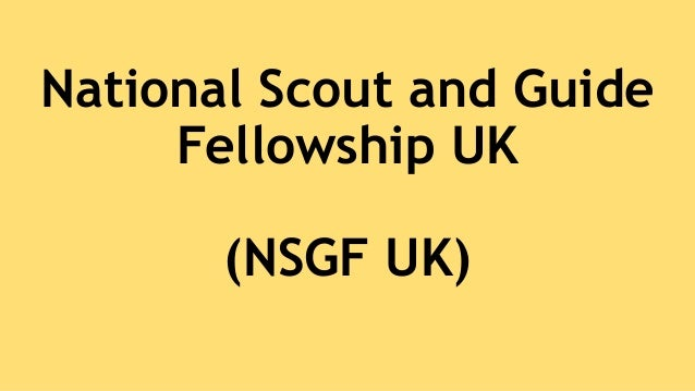 National Scout and Guide Fellowship UK (NSGF UK)