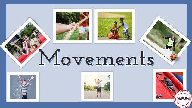 Movements: English Vocabulary Slide 1