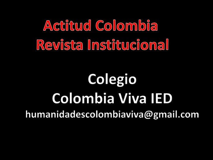 Actitudcolombiapresentacion