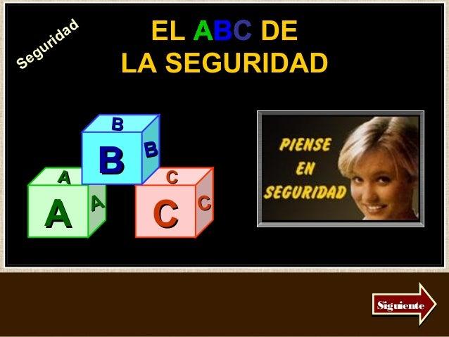 ri d           ad         EL ABC DE                         ABC  guSe                  LA SEGURIDAD                    B  ...