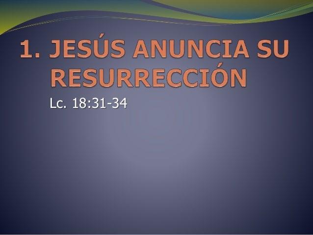 Lc. 18:31-34