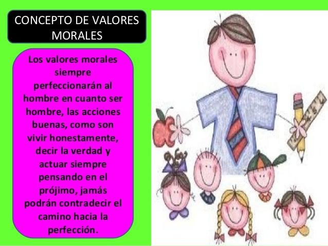 Actitudes y valores morales