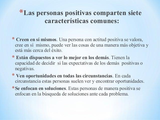 Actitud positiva - Energias positivas en las personas ...