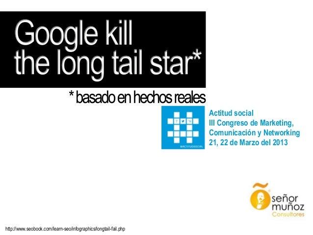 Actitud social III Congreso de Marketing, Comunicación y Networking 21, 22 de Marzo del 2013  http://www.seobook.com/learn...