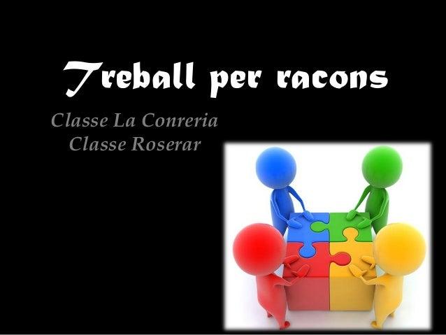 Treball per raconsClasse La Conreria  Classe Roserar