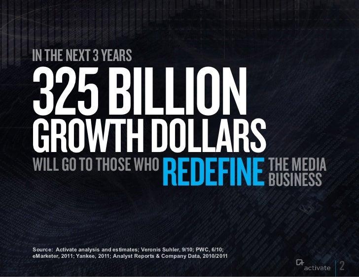 Redefiners: Capturing Media Growth Dollars Slide 2