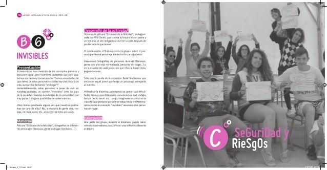 ¡ACTÍVATE! 2¡ACTÍVATE! UN PROGRAMA DE PREVENCIÓN EN EL TIEMPO LIBRE 3736 Activate_2_TZ.indd 36-37Activate_2_TZ.indd 36-37 ...