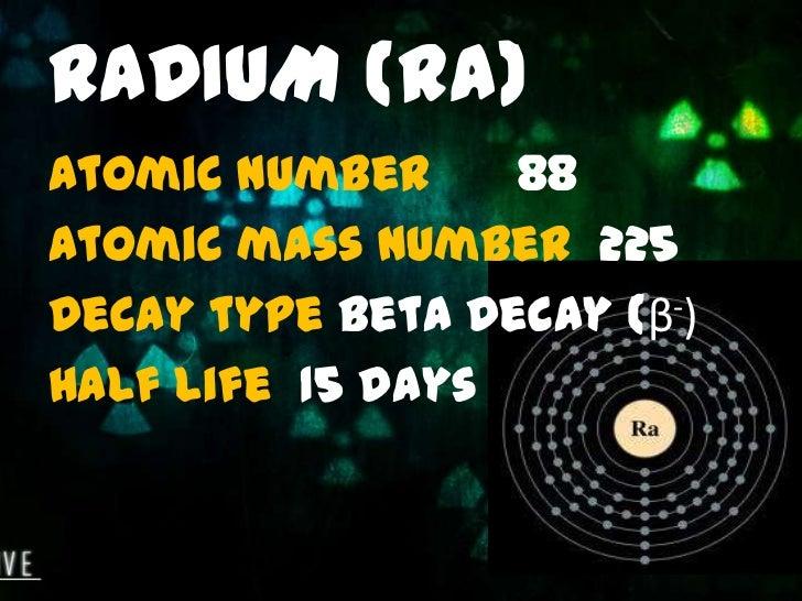 Radioactive Elements