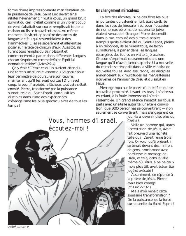 activé numéro 2 7 forme d'une impressionnante manifestation de la puissance de Dieu. Saint Luc devait ainsi relater l'évén...