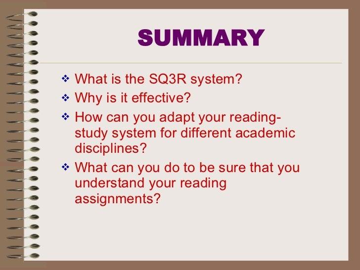 Active Reading--SQ3R