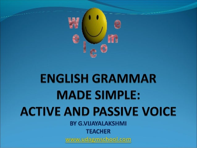 This presentation focuses on the following: 1.Simplified meaning of 'Voice' in English Grammar 2.Types of Voice (with easy...