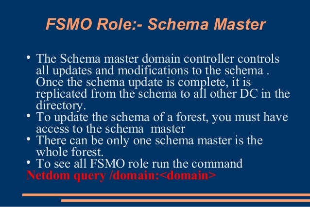 global catalog and fsmo infrastructure master relationship