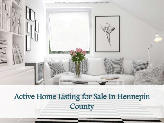 Active Home Listing for Sale In Hennepin County ALLPPT.com _ Free PowerPoint Templates, Diagrams and Charts