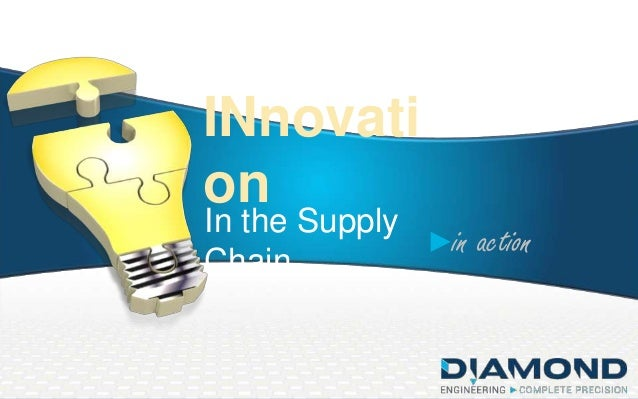INnovati on In the Supply Chain  in action