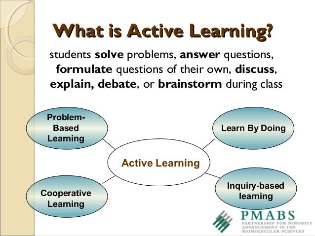 teaching and learning activities Examples and recommendations active learning includes techniques for with more engaged activities that invite for teaching) active learning.