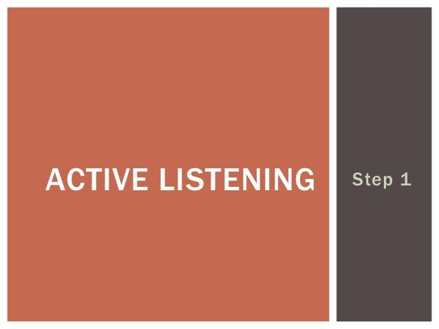 the various tools and techniques that promote effective listening Six strategies for effective listening published on use these six strategies to improve your listening skills: effective listening has been shown to.