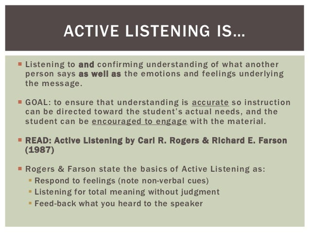 learn to see through listening Teacher learning that supports student learning: what teachers need to know  and by sharing what they see this kind of learning cannot occur in college classrooms.