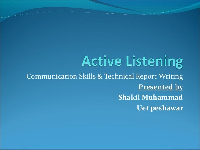 essay on listening communication
