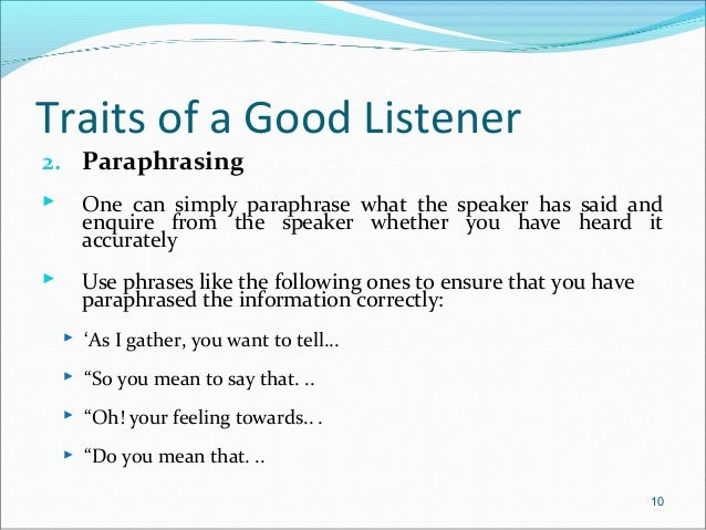 characteristics of speaker Characteristics of an effective public speaker eye contact: a public speaker needs to be looking at their audience because it shows confidence you know that a speaker knows the material and they.