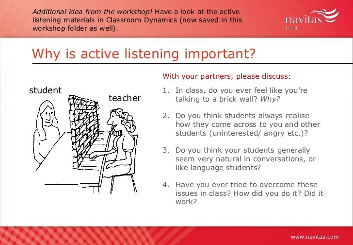 Active Listening Skills PowerPoint Presentation and Learner ...
