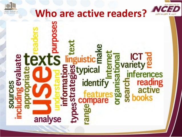 Active reading strategies
